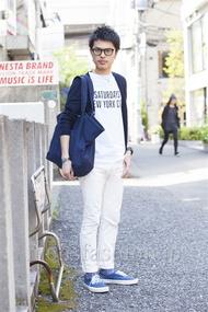 ファッションコーディネート原宿・表参道 2014年04月 青山清志さん