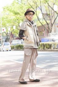 ファッションコーディネート原宿・表参道 2014年04月 斎藤亮太さん