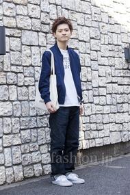 ファッションコーディネート原宿・表参道 2014年04月 村上広太さん
