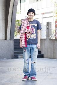 ファッションコーディネート原宿・表参道 2014年04月 Yoshiharu Matsuoさん