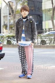 ファッションコーディネート原宿・表参道 2014年04月 安田賢司さん