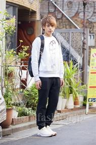 ファッションコーディネート原宿・表参道 2014年04月 島本崇行さん
