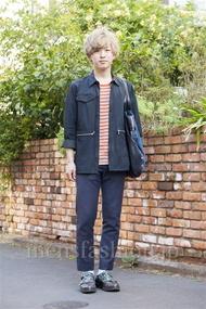 ファッションコーディネート原宿・表参道 2014年04月 Rikuさん