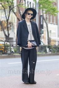 ファッションコーディネート原宿・表参道 2014年04月 高橋佑誠さん