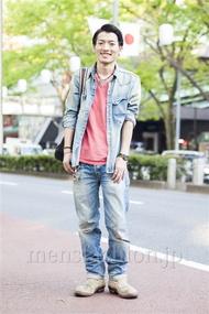 ファッションコーディネート原宿・表参道 2014年04月 大河光太朗さん