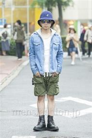 ファッションコーディネート原宿・表参道 2014年05月 佐藤貴龍さん