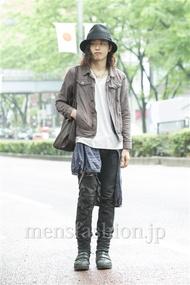 ファッションコーディネート原宿・表参道 2014年05月 だいちさん
