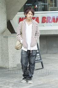 ファッションコーディネート原宿・表参道 2014年05月 イタルさん