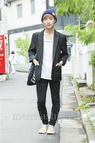 ファッションコーディネート原宿・表参道 2014年05月 名古屋 優さん