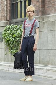 ファッションコーディネート原宿・表参道 2014年05月 宇梶祐市さん