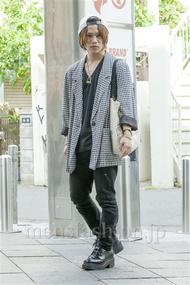 ファッションコーディネート原宿・表参道 2014年05月 夏川登志郎さん