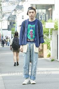 ファッションコーディネート原宿・表参道 2014年05月 井上貴弘さん