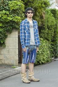 ファッションコーディネート原宿・表参道 2014年05月 小林綾太さん