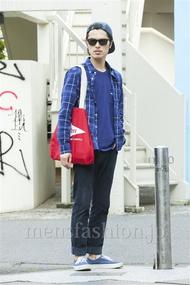 ファッションコーディネート原宿・表参道 2014年05月 青山清志さん
