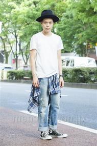 ファッションコーディネート原宿・表参道 2014年05月 増渕雄一さん