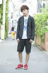 ファッションコーディネート原宿・表参道 2014年05月 えつさん