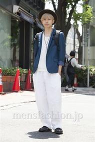 ファッションコーディネート原宿・表参道 2014年05月 糸川耀士郎さん