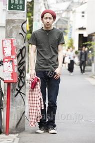 ファッションコーディネート原宿・表参道 2014年05月 Yoshiharu Matsuoさん
