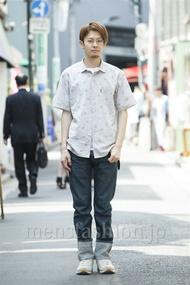 ファッションコーディネート原宿・表参道 2014年05月 斎藤章平さん
