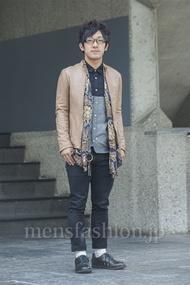 ファッションコーディネート原宿・表参道 2014年05月 向後春輝さん
