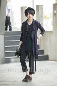 ファッションコーディネート原宿・表参道 2014年05月 勝田俊介さん