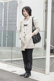 ファッションコーディネート原宿・表参道 2014年05月 梅村陽介さん