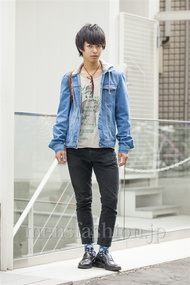ファッションコーディネート原宿・表参道 2014年05月 森 光さん