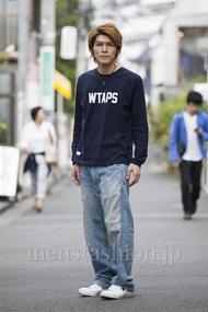 ファッションコーディネート原宿・表参道 2014年05月 中沢和貴さん