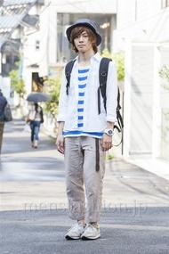 ファッションコーディネート原宿・表参道 2014年05月 ごみぶちけいすけさん