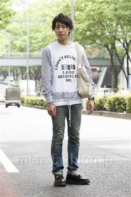ファッションコーディネート原宿・表参道 2014年06月 宮下佳佑さん