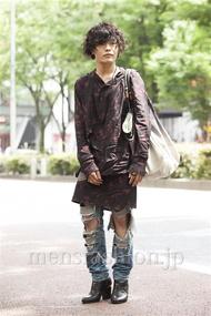 ファッションコーディネート原宿・表参道 2014年06月 nabescoさん