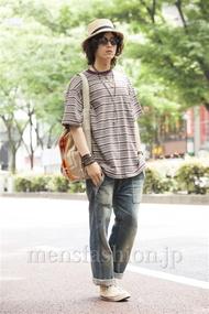 ファッションコーディネート原宿・表参道 2014年06月 加藤康貴さん