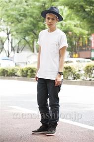 ファッションコーディネート原宿・表参道 2014年06月 増渕雄一さん