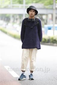 ファッションコーディネート原宿・表参道 2014年06月 平塚章悟さん