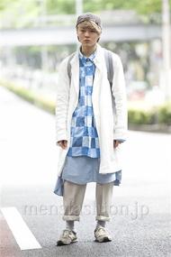 ファッションコーディネート原宿・表参道 2014年06月 増田 巧さん