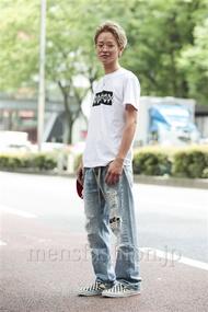 ファッションコーディネート原宿・表参道 2014年06月 熊澤晃希さん