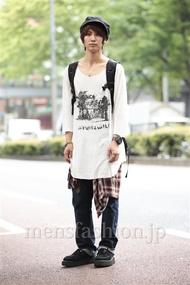 ファッションコーディネート原宿・表参道 2014年06月 ふるたれんさん