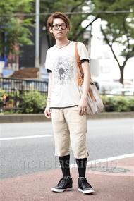ファッションコーディネート原宿・表参道 2014年06月 齊藤亮太さん