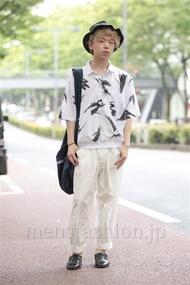 ファッションコーディネート原宿・表参道 2014年06月 アンドウコウイチさん