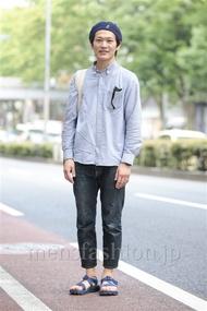 ファッションコーディネート原宿・表参道 2014年06月 ワタベショウマさん