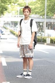 ファッションコーディネート原宿・表参道 2014年06月 新田快広さん