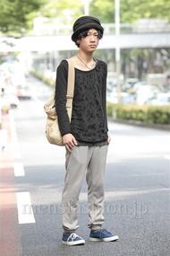 ファッションコーディネート原宿・表参道 2014年06月 wataさん