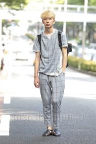 ファッションコーディネート原宿・表参道 2014年06月 宇梶祐市さん