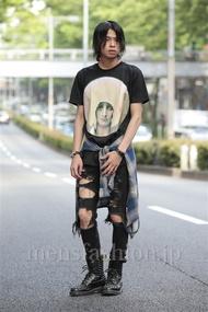 ファッションコーディネート原宿・表参道 2014年06月 石田直輝さん