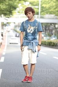 ファッションコーディネート原宿・表参道 2014年06月 えつさん