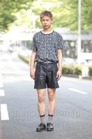 ファッションコーディネート原宿・表参道 2014年06月 岡崎 翼さん