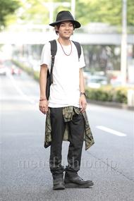 ファッションコーディネート原宿・表参道 2014年06月 黒山慶司さん