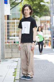 ファッションコーディネート原宿・表参道 2014年07月 松金祐大さん