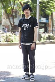 ファッションコーディネート原宿・表参道 2014年07月 宮下佳佑さん