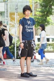 ファッションコーディネート原宿・表参道 2014年07月 小林綾太さん
